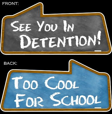 See You In Detention! & Too Cool For School