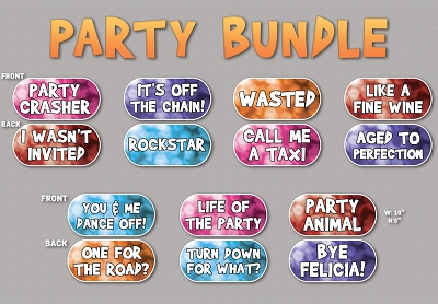 Let's Party 7pc Bundle