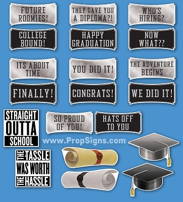 Graduation Theme 10pcs